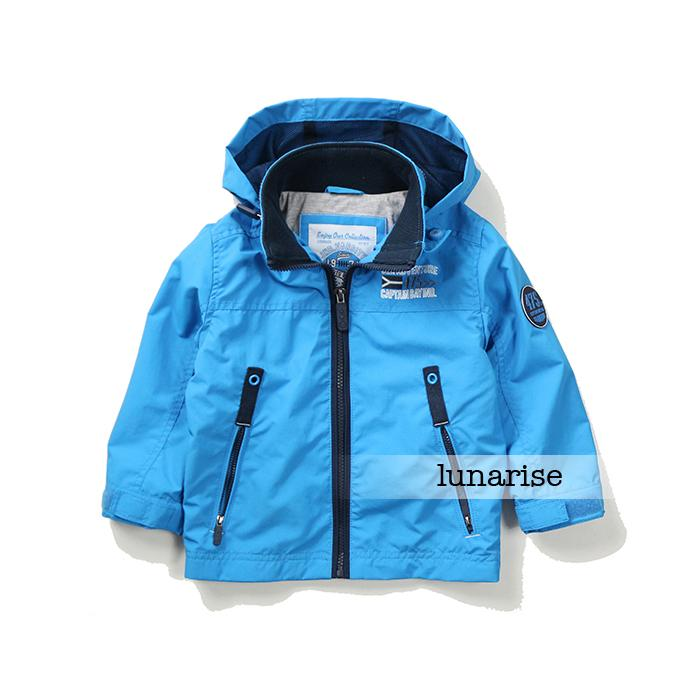 Free Shipping - kids/children/boys blue hooded jacket, boys spring/autumn windproof jacket, Size 92 to 110 free shipping 200pcs 2sd882p d882p to 92 d882 transistors