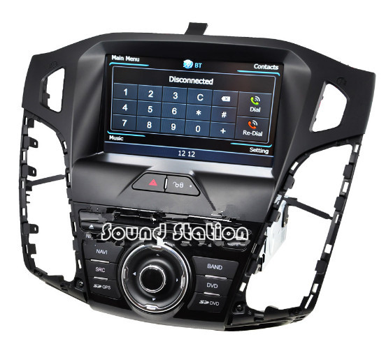 for ford for focus 3 2012 2015 car dvd radio media gps. Black Bedroom Furniture Sets. Home Design Ideas