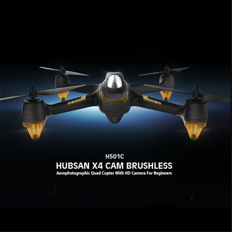 (In Stock) Hubsan H501C X4 Brushless With 1080P HD Camera GPS Altitude Hold Mode RC Quadcopter RTF Mode switch 7 4v 2700mah 10c battery 1 in 3 cable usb charger set for hubsan h501s h501c x4 rc quadcopter