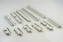 """50 шт. 0,100 """"2,54 мм IDC Box header PCB мужские разъемы 10 14 16 20 26 30 34 40 50 60 64 Pin монтажные уши для 1,27 мм плоский кабель"""
