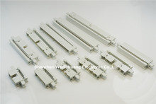 """50 pcs 0.100"""" 2.54 mm IDC Box header PCB Male Headers 10 14 16 20 26 30 34 40 50 60 64 Pin Mounting Ears For 1.27mm Flat cable"""