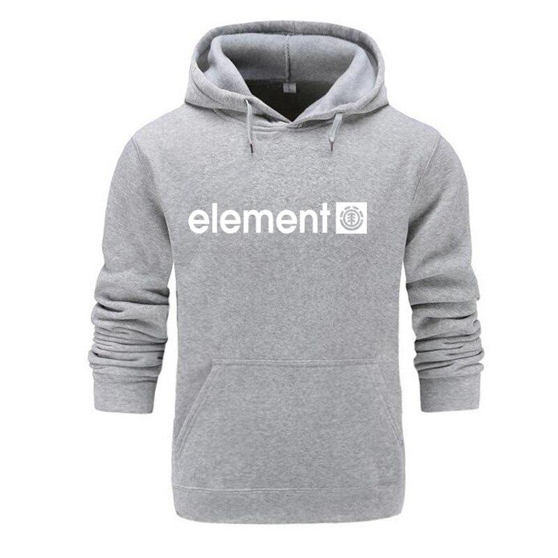 Autumn Winter Brand Mens Hoodies Sweatshirts Men High Quality ELEMENT Letter Printing Long Sleeve Fashion Mens Hoodies 21