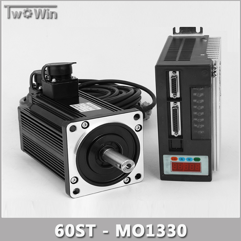 400w 2 5a Ac Servo Motor 3000rpm Single Phase 60st M01330