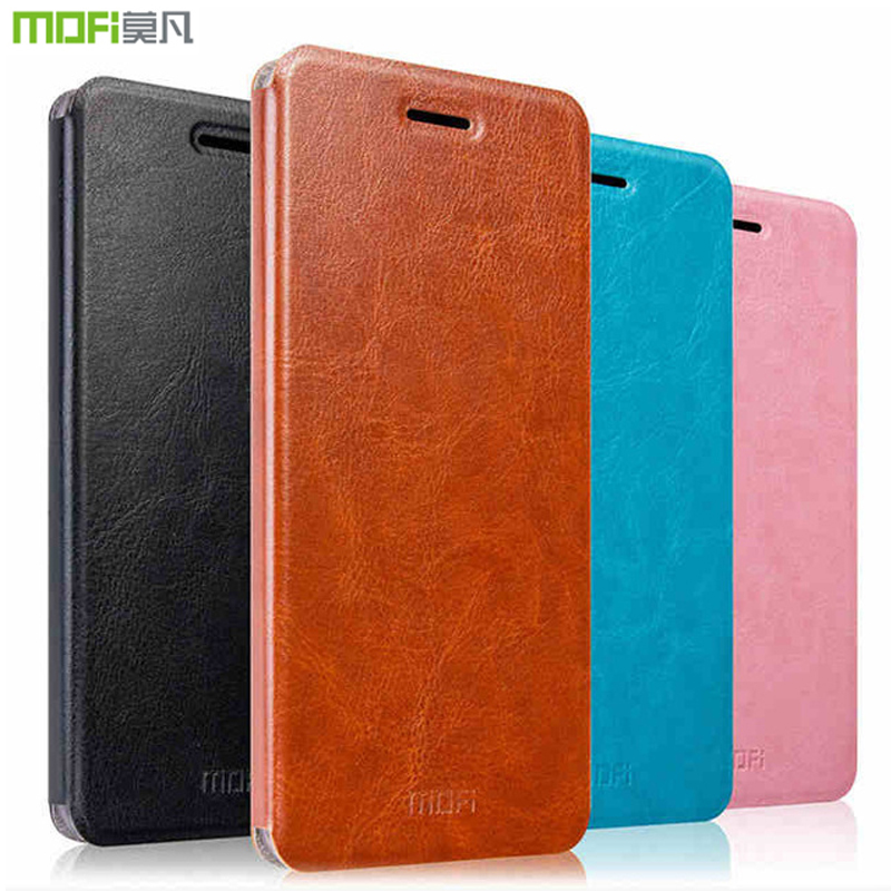 Galleria fotografica Huawei <font><b>Honor</b></font> <font><b>View</b></font> 10 Case Cover Flip Mofi Luxury Business PU Leather Silicone Case For Huawei <font><b>Honor</b></font> <font><b>View</b></font> 10 V10 With Holder