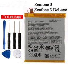 Orginal C11P1511 Battery For ASUS ZENFONE 3 DELUXE ZE552KL Z012DA Z012DE C11P1511 Straight line 2900mAh цены онлайн