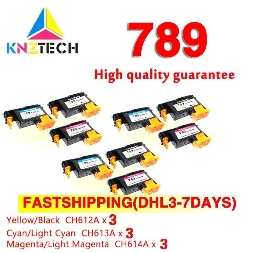 FASTSHIP pour tête d'impression 789 têtes d'impression pour hp 789 remplacement compatible pour imprimante hp 789 DesignJet L25500