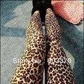 Горячая распродажа новый сексуальный леопарда леди джинсы для женщин мода бесшовные леггинсы женщин Jeggings бесплатная доставка
