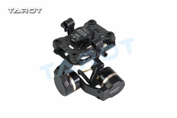 Таро TL3T01 обновление FPV T4 3D 3D металла CNC 3 осевой бесщеточный карданный для GOPRO GOPRO4/GOpro3 +/Gopro3 FPV фотографии - 3