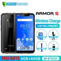 Ulefone Armor 5 телефон смартфон телефоны смартфоны водонепроницаемый IP68 NFC 5.85