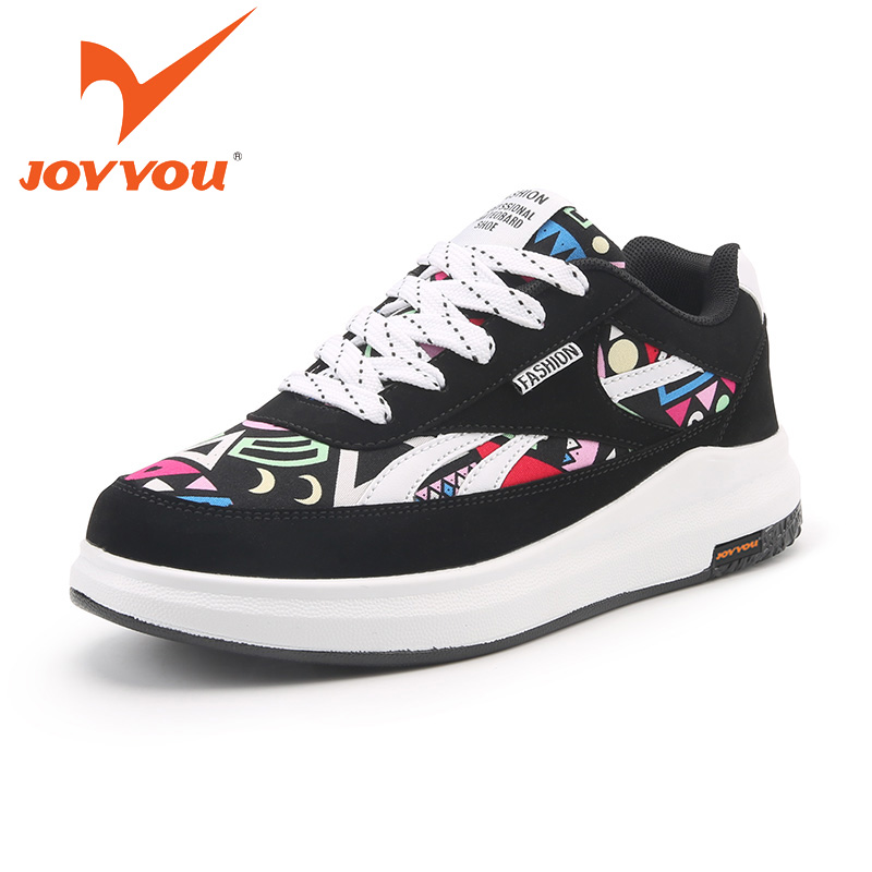 JOYYOU Brand Kids Shoes Lace UP Canvas Boys Girls School Sneakers Children Teenage Footwear Baby For child Fashion Toddler Shoes hobibear classic sport kids shoes girls school sneakers fashion active shoes for boys trainers all season 26 37