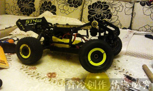 rc car frame op parts , roll cage RC accessories Protective cover Imported nylon production For Thunder Tiger ST4 G3