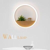 Modernen Minimalistischen Wandleuchten LED Kreative Kreis weinflasche Wandleuchten Schlafzimmer Nachtbeleuchtung Flur Balkon Treppen Lampe