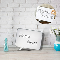 LED Message Handwriting Night Lamp Letter A4 DIY Light Box Speech Writing Rectangle Board Birthday Party Wedding Christmas Decor