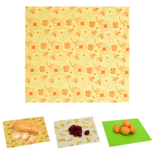 Kitchen Fresh Keeping Beeswax Cloth Reusable Fruit Storage Bag Eco Friendly Beeswax Wraps Food Fresh Keeping Washable Covers