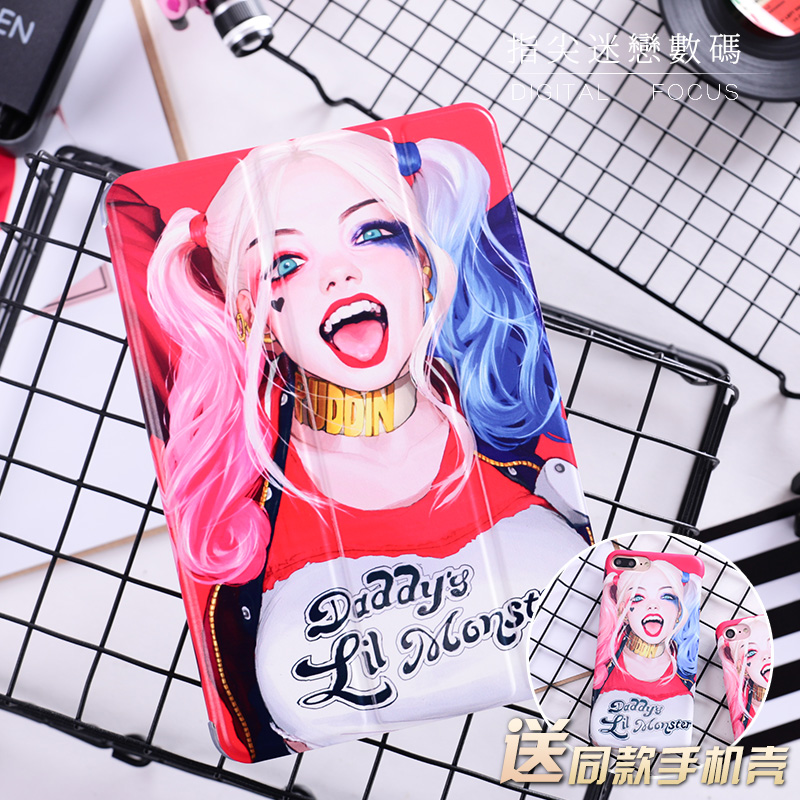Cute Little Monster Flip Cover For iPad Pro 9.7 10.5 Air Air2 Mini 1 2 3 4 Tablet Case Protective Shell For New iPad 9.7 2017 cartoon cute cat flip cover for ipad pro 9 7 air air2 mini 1 2 3 4 tablet case protective shell for new ipad 9 7 2017