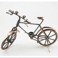 Nowość Metal Rowerów Modelu Zabawki Edukacyjne Dla Dzieci Zabawki Edukacyjne, Handmade Rocznika Rower Jazda Na Rowerze Rzemiosło Dekoracji Domu Prezent