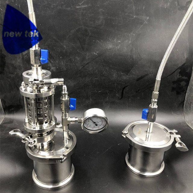 HOT SALE] 160g BHO Extractor kit, Closed Loop System  2
