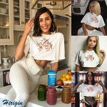 Summer Women T-Shirts 2019 New Casual Short Sleeve O-Neck Loose Angel Print