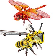 цены Simuladas de bloques de construccion de bricolaje de abeja Modelo Compatible LegoINGlysss tecnica creador juguetes para los nino