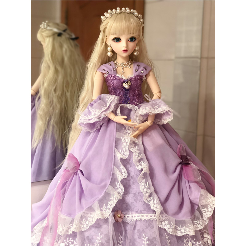 1/3 BJD 60CM Doll Toys Top Quality Chinese Doll 18 Joint BJD Ball Joint Doll Dress Fashion Girl Gift Toys