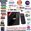 1 Año Mejor 4 K * 2 K Android IPTV Caja 3G + 32G H96 pro + REINO UNIDO DE QUE francés 1150 Más El Canal de Deportes HD IPTV Mini pc Set Top Box Europeo