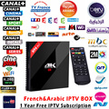1 Ano Melhor 4 K * 2 K Android Caixa De IPTV 3G + 32G H96 pro + REINO UNIDO DE QUE francês 1150 Plus Sports Channel HD IPTV Mini pc Set Top Box Europeu