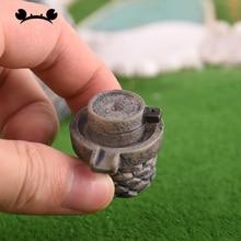 Mini Stone Mill Craft Miniature Fairy Garden Home Decoration Micro Landscaping Decor DIY Accessories