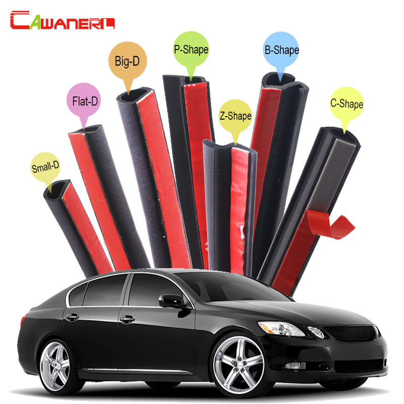 Cawanerl Car Rubber Seal Trim Weatherstrip Sealing Seal Strip Kit For Lexus GS GS300 GS430 GS460 GS450h GS350 GS350h GS400 6x car snow tire anti skid chains for lexus rx nx gs ct200h gs300 rx350 rx300 for alfa romeo 159 147 156 166 gt mito accessories