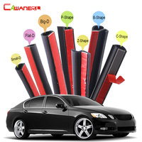 Cawanerl Car Rubber Seal Trim Weatherstrip Sealing Seal Strip Kit For Lexus GS GS300 GS430 GS460 GS450h GS350 GS350h GS400