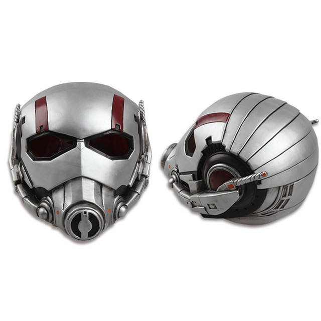 Ant-man Cosplay Hat Ant-men Costume Accessories Ant-man Helmet Halloween  Mask PVC Metarial Superhero Mask Halloween In Stock f410e2fdd359