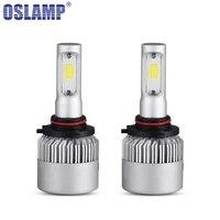Oslamp LED Car Headlight 9005 Single Beam COB Auto Led Headlight Bulb 6500K Headlamp 12V 24V