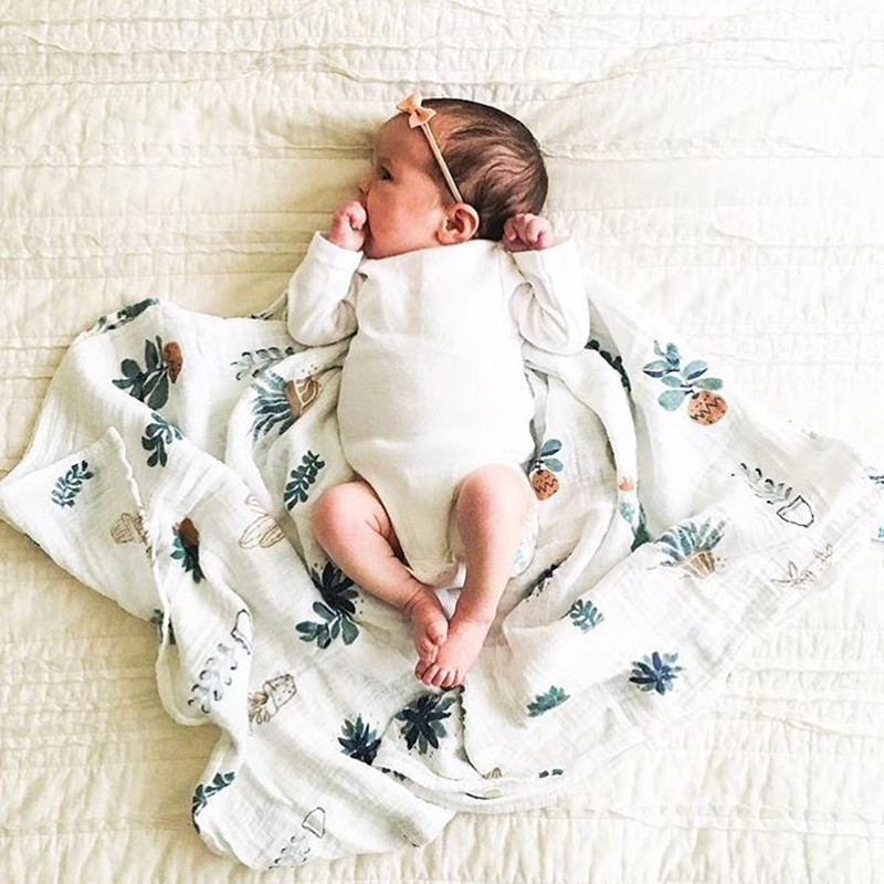 new package ins baby swaddle baby muslin blanket quality better than Aden Anais Baby Multi-use cotton/bamboo Blanket Infant Wrap fox muslin quilt four layer bamboo baby muslin blanket muslin tree swaddle better than aden anais baby blanket infant wrap