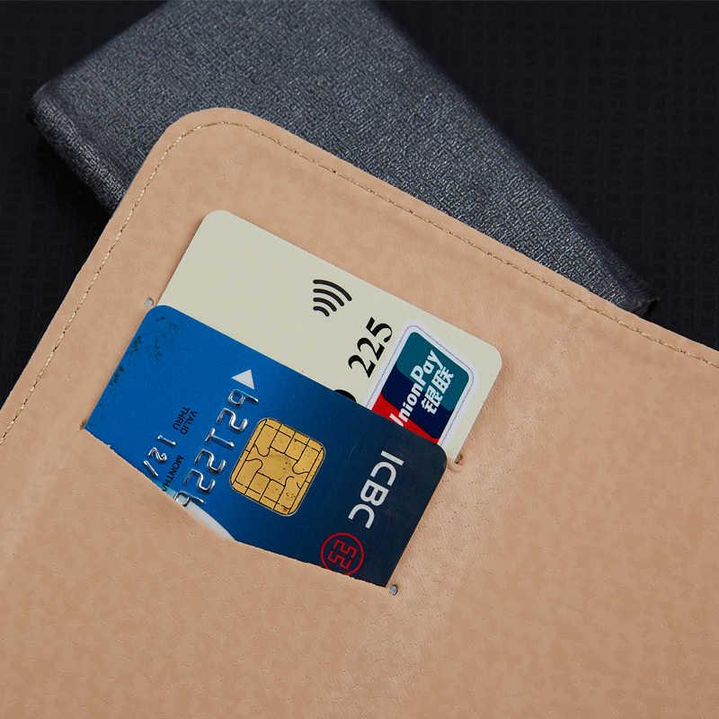 Для Samsung Galaxy A8 2018 DUAL SIM SM-A530F/DS бизнес телефон Чехол-Бумажник Стенд защитный чехол с отделением для карт