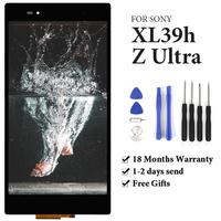 TIMEWAY For Sony Xperia Z Ultra XL39h XL39 C6833 C6802 LCD Touch Screen AAA display