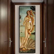 The Birth Of Venus by Sandro Bottice Portrait Canvas Art Famous Painting Vintga Posters and Prints Wall Picture for Living Room