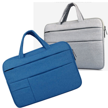 Polyester Laptop bag for xiaomi Macbook Air Pro Dell Asus Lenovo HP Acer Handbag 11 12 13 14 15 inch Notebook 15.6 Sleeve Case top nylon laptop sleeve shoulder bag case for xiaomi asus dell hp acer lenovo macbook air pro 11 12 13 14 15 4 15 6 surface pro