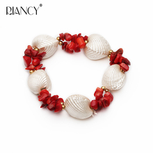 2019 New Fashion Elegant Shell  Bracelets shell Jewelry for women gift