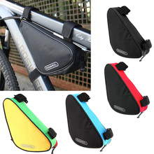 цена на ROSWHEEL Bicycle Bag Bike Bag Outdoor Triangle Cycling Bicycle Front Tube Frame Bag MTB Road Bike Cycling Bag