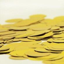 (20g/30g) Metallic Gold/Silver Tissue Circle Confetti
