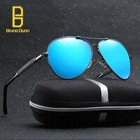 AAA Metalu Spolaryzowane Okulary Przeciwsłoneczne dla mężczyzn Sunglases Tytanu Nowa Moda mężczyzna Projektant Okulary Retro Stylu Mężczyzna Odcienie Z Pudełkiem