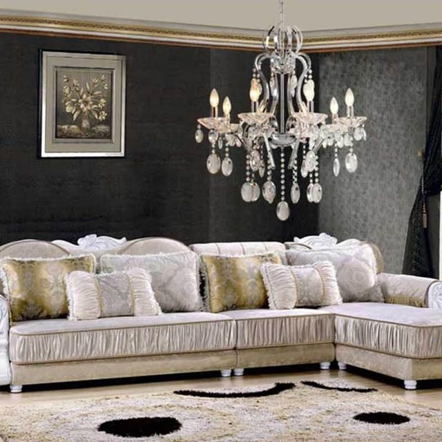 Modernes Treppen Lange Kerze Kristall Kronleuchter Luxus Im Europäischen  Stil Kronleuchter Anhänger Wohnzimmer Dekoration Innen