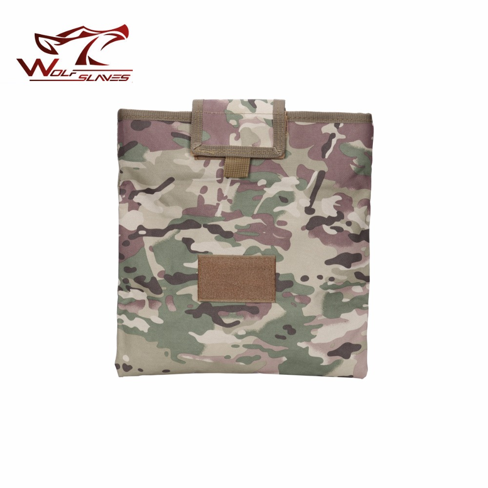 Military Tactical Recycling Hunting bag Folding Magazine Sundries Drop Mag Multicam lightweight Pouch 1000D Nylon