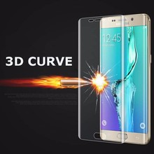 S6 S7 Edge Plus New 3D Curved Cambered Full Coverage Soft PET Film Screen Protector For Samsung Galaxy (Not Tempered Glass)