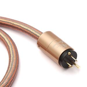 Image 5 - Yüksek son güç kablosu AU güç kablosu hifi amerikan standart ses CD amplifikatör amp ab abd fiş güç hattı