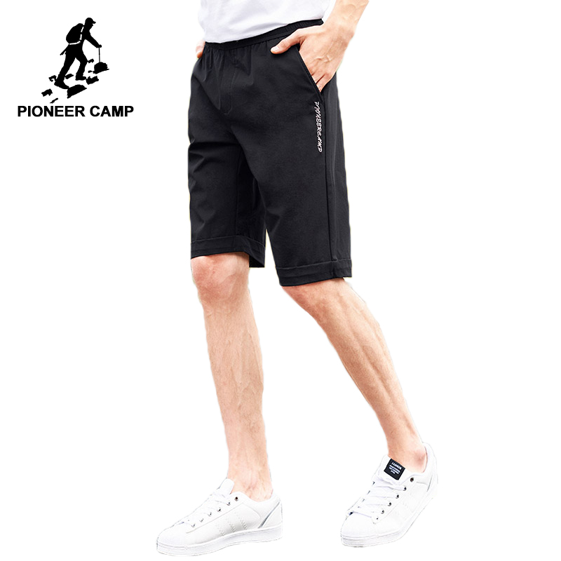 Pioneer camp new quick dry shorts men brand clothing embroidery casual shorts quality stretch bermuda shorts for men ADK801112