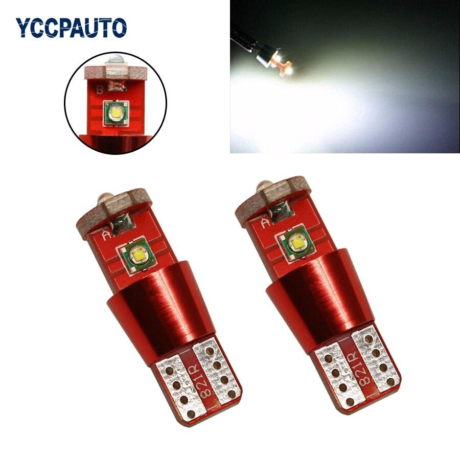 Белый W5W T10 Светодиодные лампочки 9 Вт Canbus 501 CREE светодиодные чипы высокий Мощность лампа источник света автомобиля DRL огни DC 12-24 В