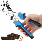 Leather Belt Hole Punch Puncher Tool Hole Maker Revolving Rotary Tools ALI88