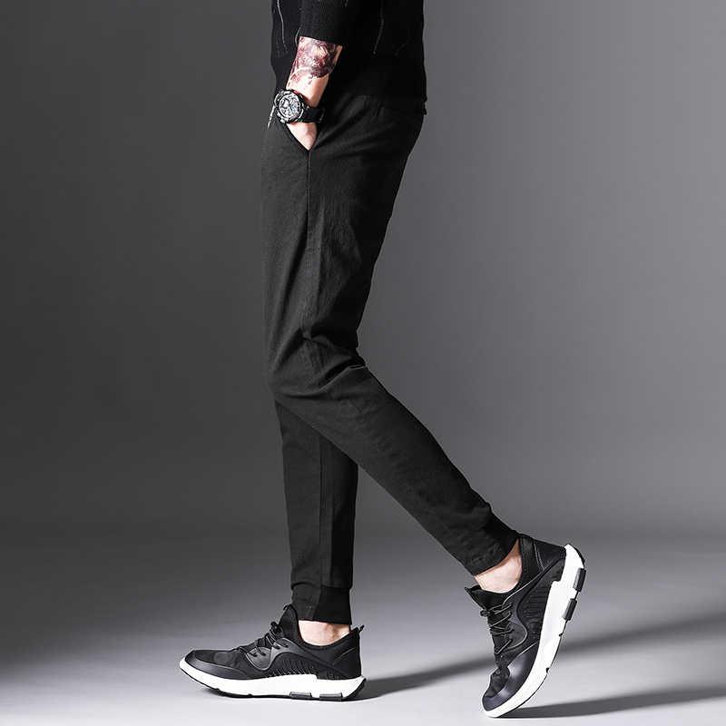 2017 جديد جودة عالية سميكة بنطال رياضي الرجال اللياقة البدنية كمال الاجسام الجمنازيوم السراويل لمهربي الملابس الشتاء العرق السراويل البنطلون