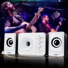 SADA D-205 2.1 Computer Speaker With Subwoofer – Best For Music, Movies, Multimedia PC And Gaming Systems
