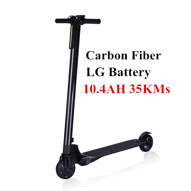 Foldable Carbon Electric Scooter S3 pro Hoverboard with 10.4AH LG Battery for Adults and Children Electric Bike Bicycle S2